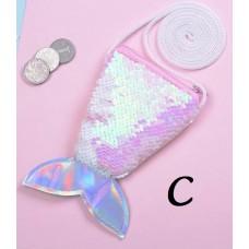 Sequin Mermaid Sling Bag