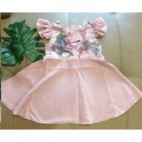 Baby Dress 1 - Dusty Pink