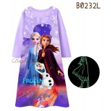 Frozen Long Dress 232L ( Glow In The Dark)