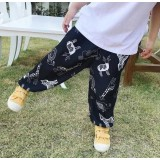 Animal Legging (Black) 8159