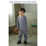 Baju Melayu 3pcs Set 2002 - Pre Order Eta Mid Apr