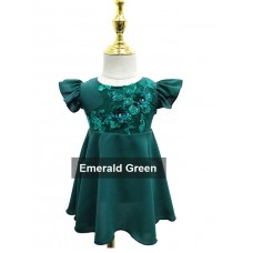 Girl Raya 9135 - Emerald Green