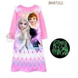 Frozen Long Dress 471L ( Glow In The Dark)