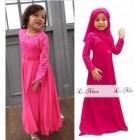 2016 L Nice Rose Pink Jubah (Size 1 - 12Y)