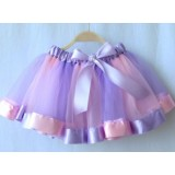 Rainbow Sew Tutu Skirt