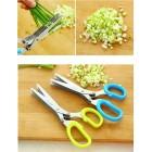 5-Blades Herb Scissors