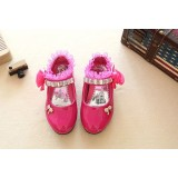 Kids Shoes - Dark Pink