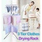 3 Tier Clothes Drying Rack